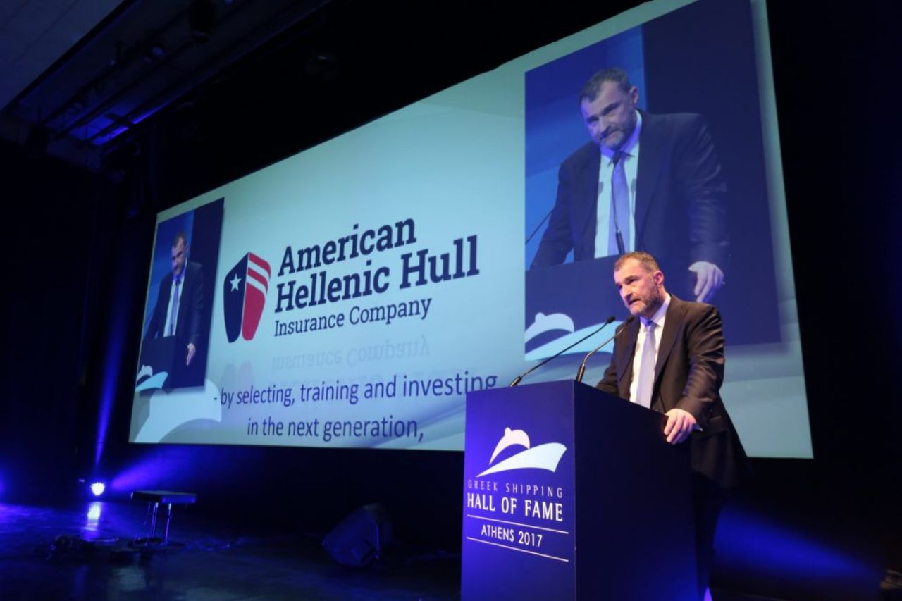 American Hellenic Hull is a proud sponsor of the Greek Shipping Hall of Fame