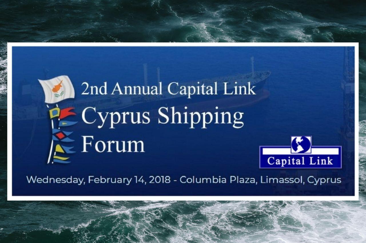Ilias Tsakiris Attended The Capital Link Cyprus Shipping Forum_result