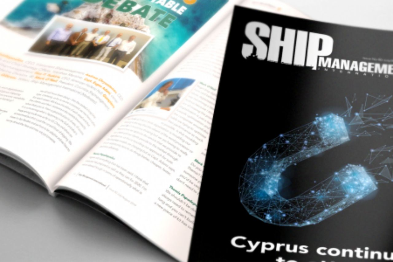 Ilias Tsakiris attended the Cyprus Ship Management Round Table Debate