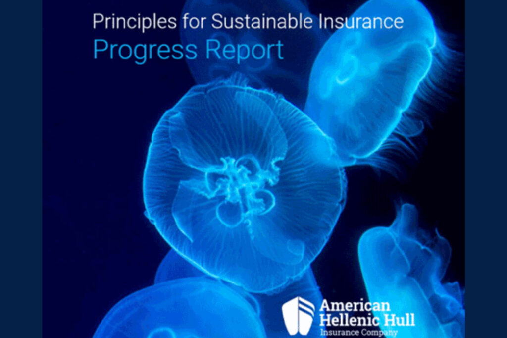 Principles for Sustainable Insurance Progress Report