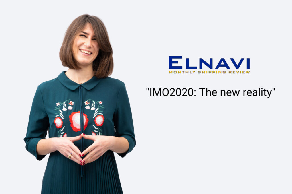 Nafsika Ioli Kontou, AHHIC's Claims Executive comments on IMO2020 in ELNAVI's July edition.